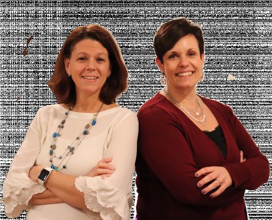 Shelly Borota  & Cathy Dalldorf